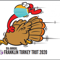 Virtual Franklin Turkey Trot - TODAY or anytime